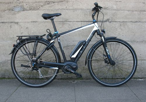 BULLS Cross E electric bike Bosch mid drive motor