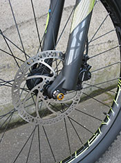BULLS Evo E-Stream FS 2 27.5+ electric bike front disc brake