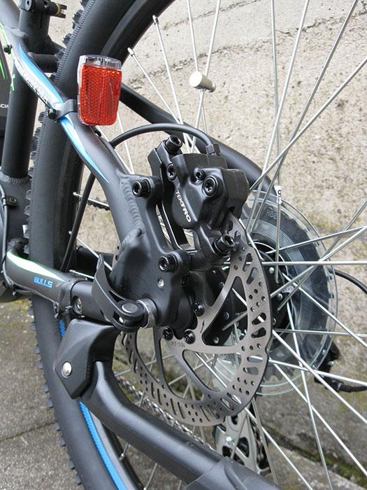 BULLS Twenty4 E Hydraulic Disc Brakes