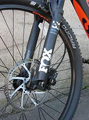 easy Motion Evo suspension and disc brake