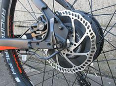 Easy Motion EVO 27.5 Pro electric bike rear wheel motor