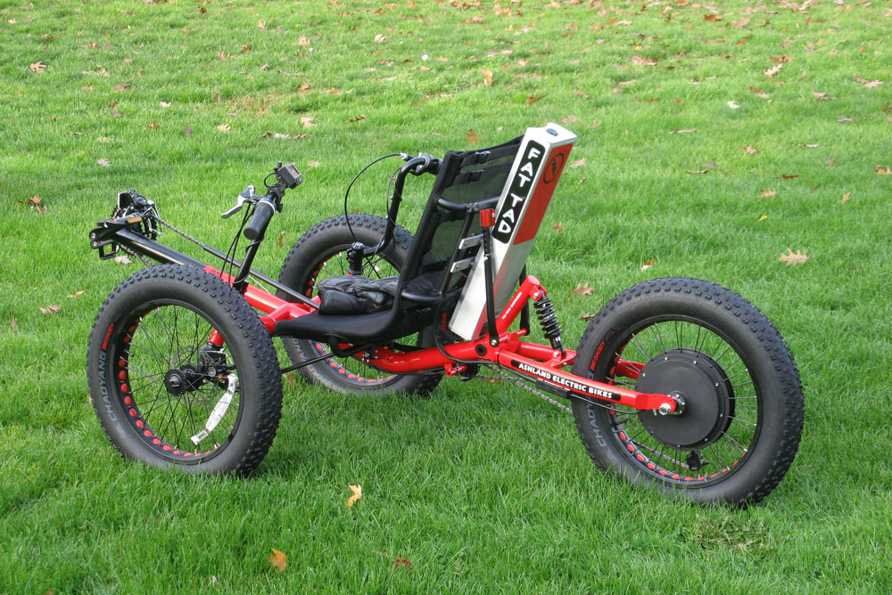 Fat Tad Electric Trike 1