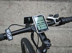 GenXe e102 Rec electric bike, display