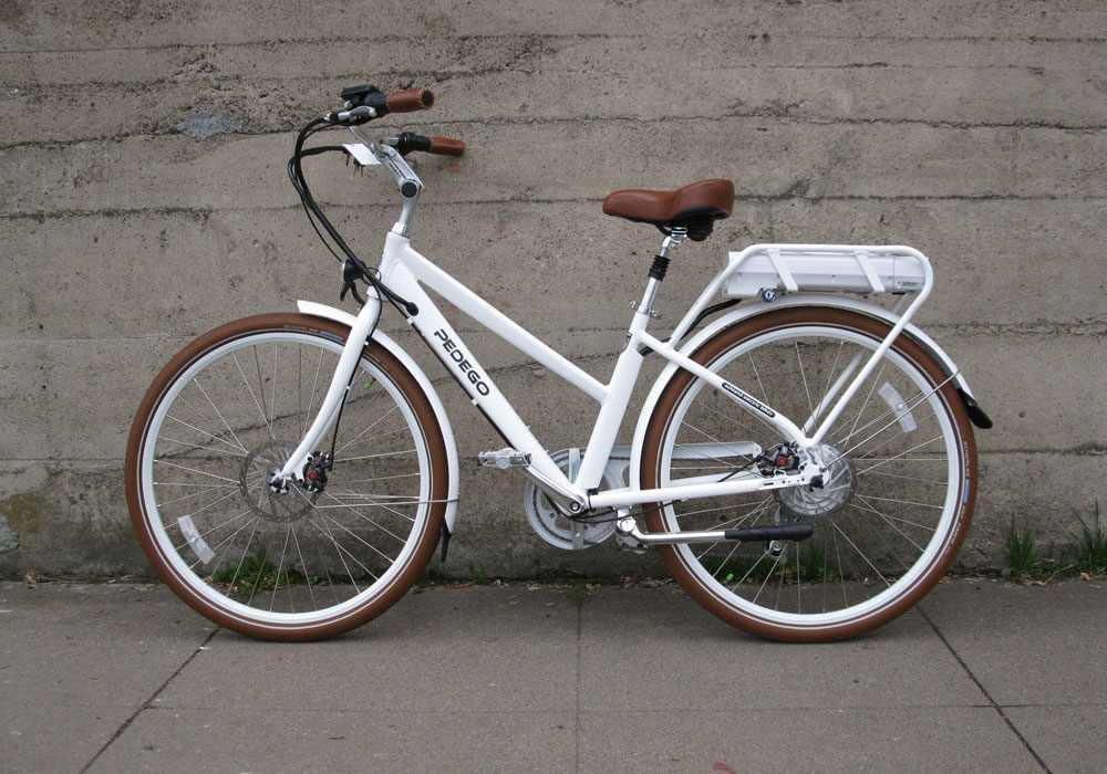 Pedego City Commuter step through electric bike