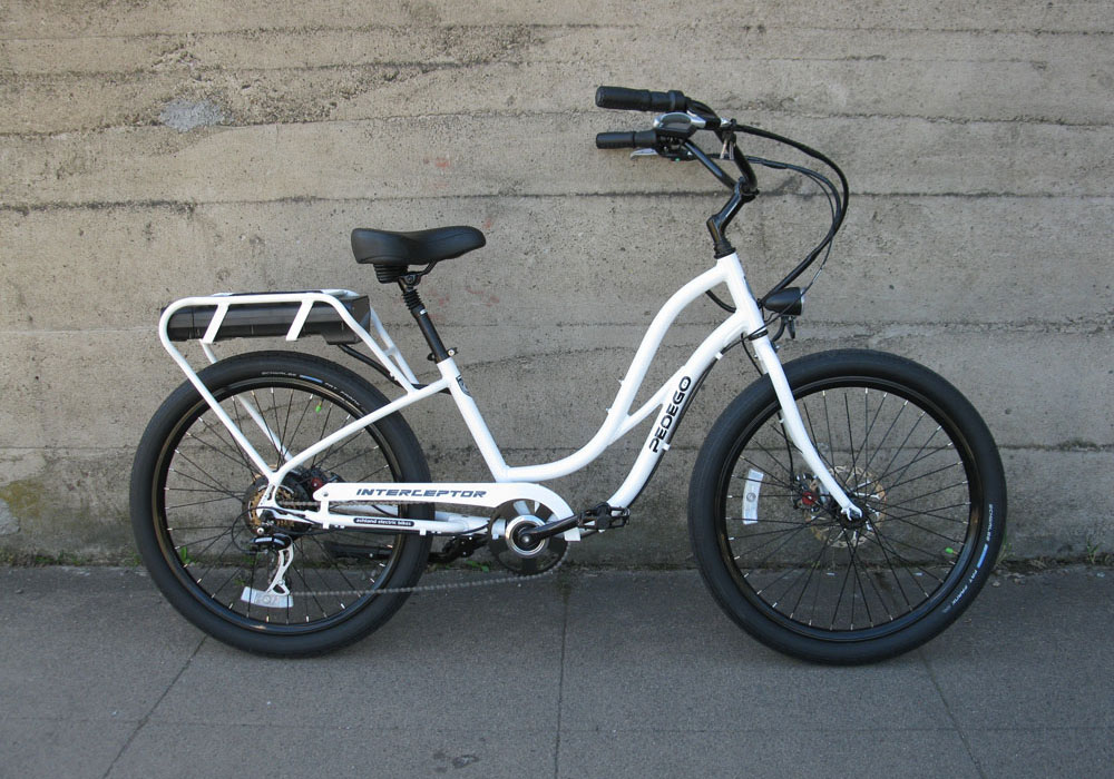 Pedego Interceptor step through electric bike