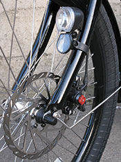 Pedego-Stretch-Cargo-Bike-Disc-Brake