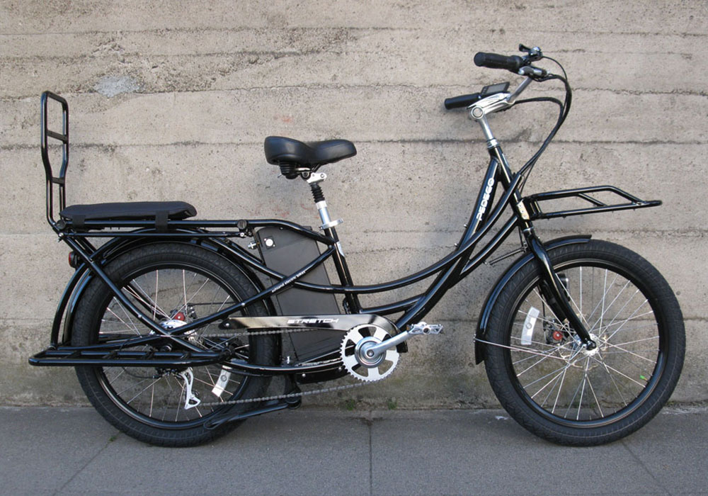 Ashland Electric Bikes Pedego Stretch Electric Cargo Bike