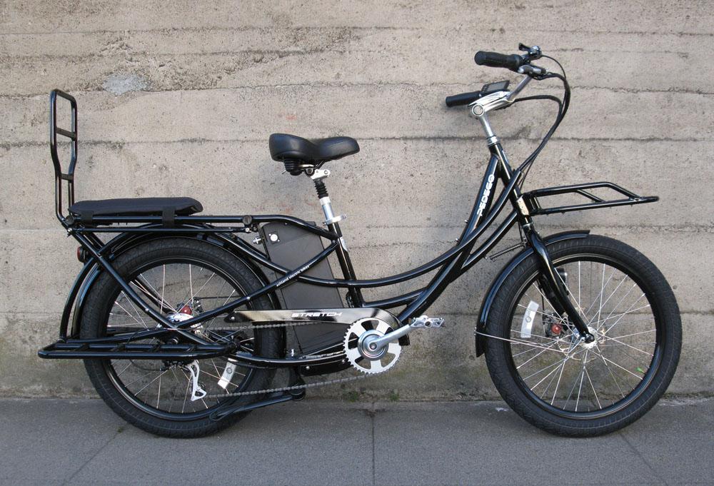 Pedego Stretch Cargo Bike black 1