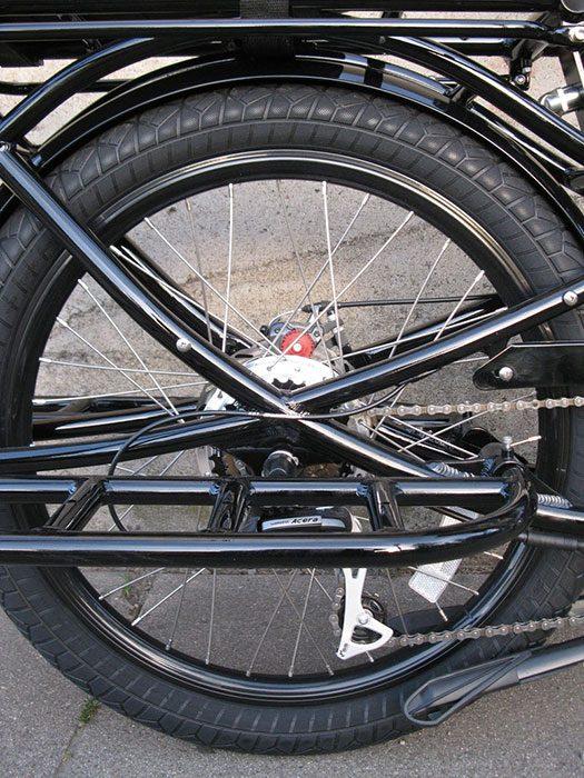 Pedego Stretch Cargo Bike black