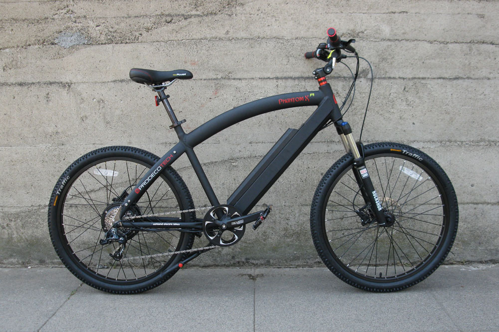 Prodecotech Phantom XR electric bike 1