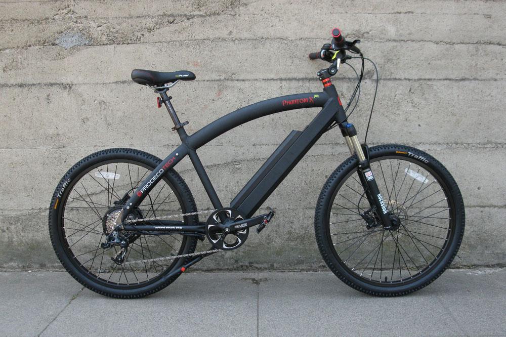 Prodecotech Phantom XR electric bike 1