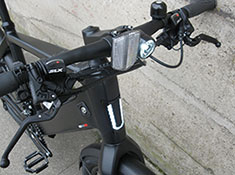 Stromer ST2 electric bike, light