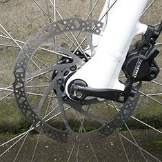 Surface 604 Boar Fat Tire electric bike front hub thru axle