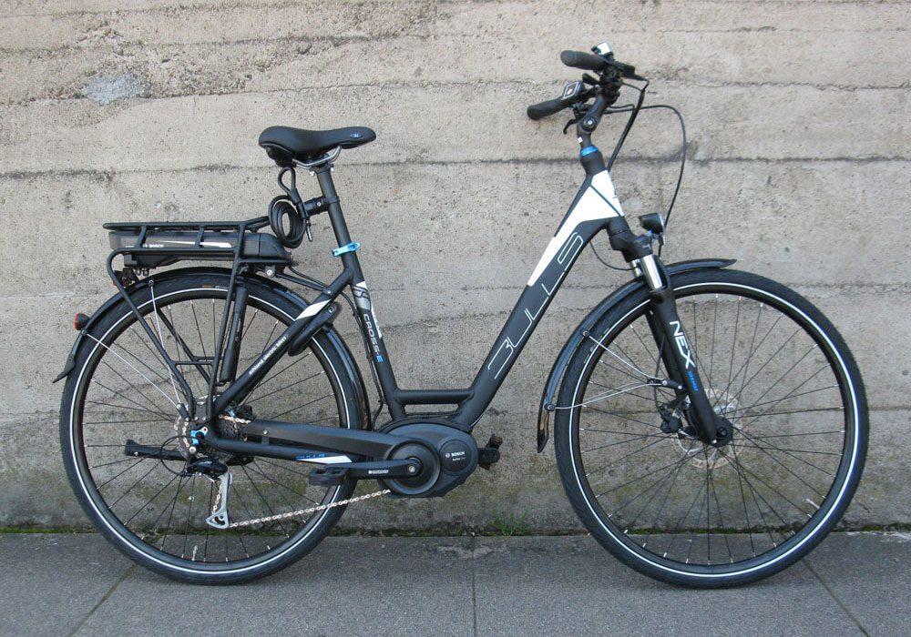 BULLS Cross E electric bike Bosch mid drive motor