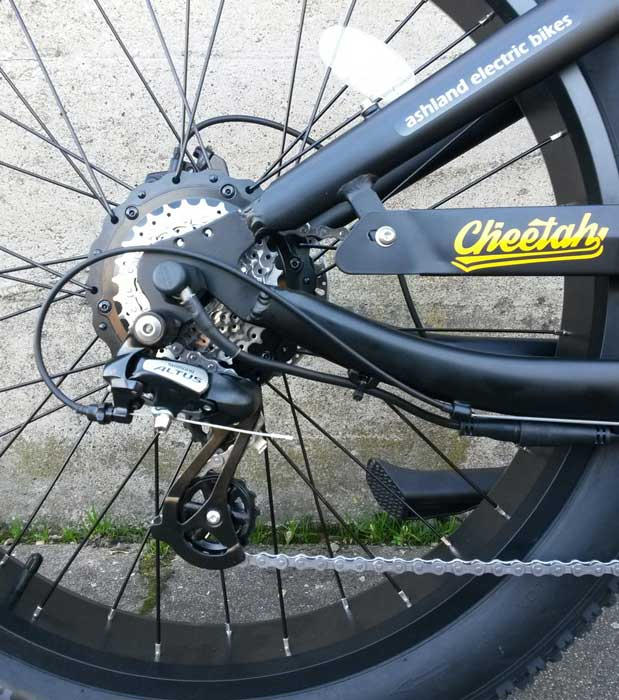 Civi Cheetah electric bike