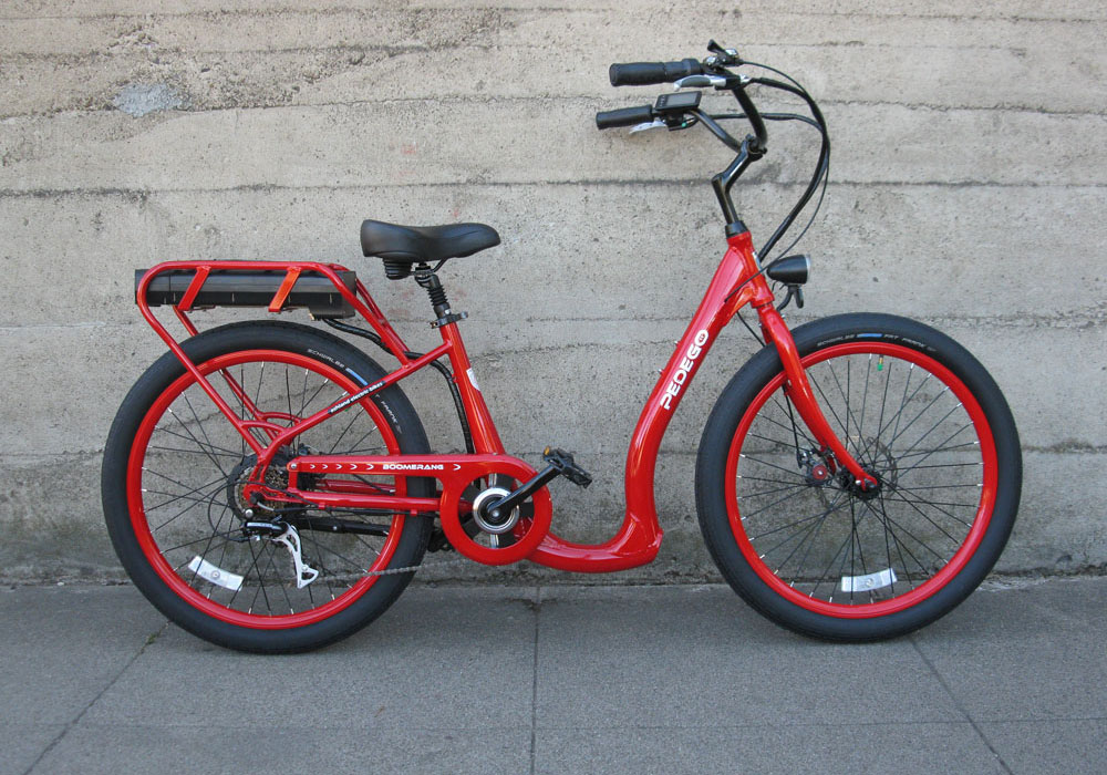 Pedego Boomerang Plus electric bike