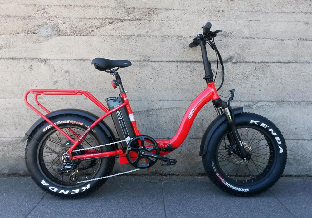 IGO Fat Folding Electric Bike